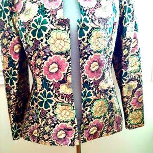 Liptons Metallic Brocade Jacket